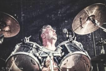 Dirk Reinenbergh de drummer van Cavemen